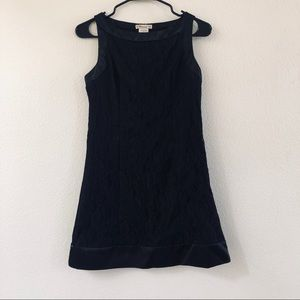 Forever 21 black lace dress size S